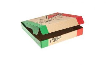 "12"" Gourmet Print Pizza Box, 50/Pack"