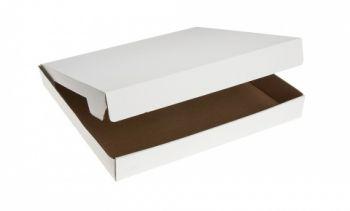 """12"""" Plain White Pizza Box, 50/Pack"""