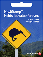 KiwiStamp Postage Stamps Booklet